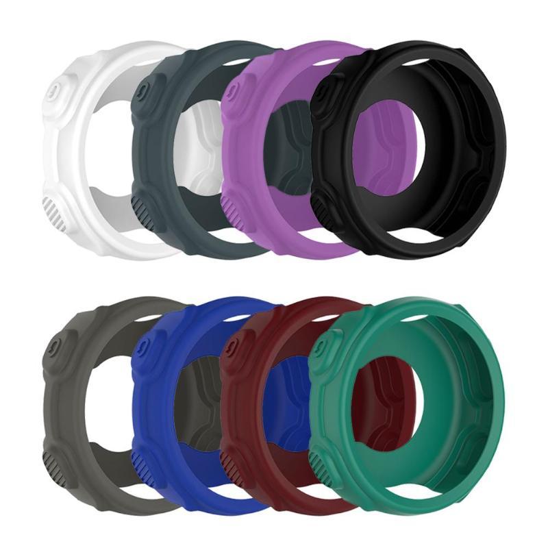 Alloyseed 8 cores substituição da pele de silicone capa protetora para garmin forerunner 235 735xt relógio esportivo