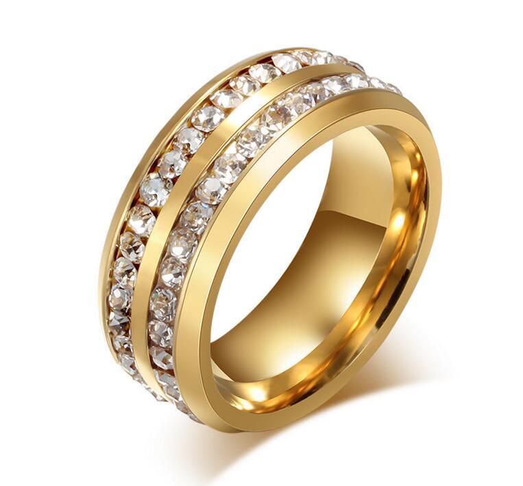 My Aliexpress Famous Brand Carter Gold Women simulated Rings Pulseira Feminina Masculina My orders