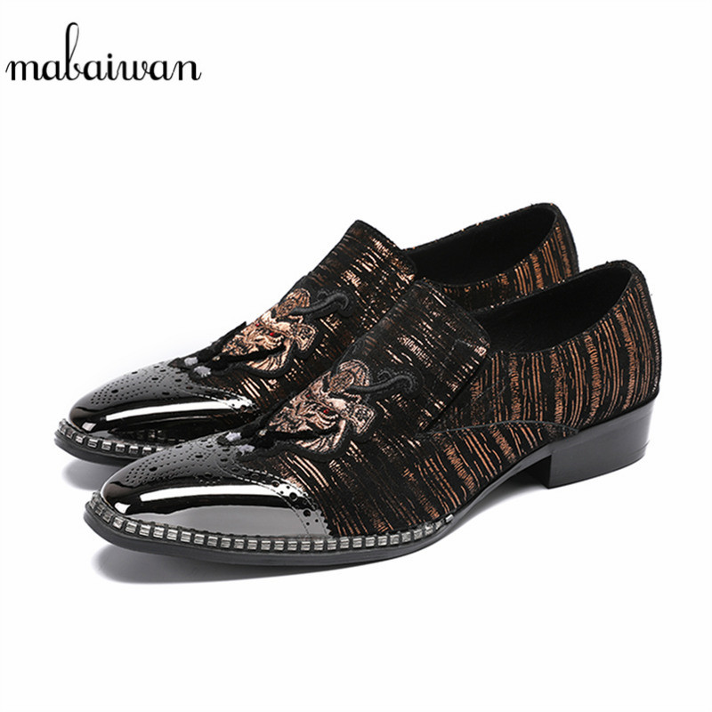 цены Mabaiwan New Fashion Men Casual Shoes Sapato Masculino Leather Boots Pointed Toe Flats Wedding Dress Party Shoes Men Ankle Boots