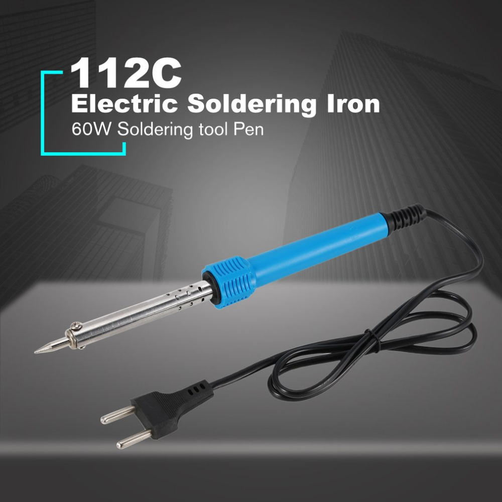 112C 60W Electric Soldering Iron Welding Solder Electric Heat Pencil Soldering Irons Repair Tool Soldering tool Pen Pakistan