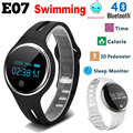 Chycet E07 Waterproof Smart Wristband Passometer Fitness Tracker Bluetooth Sports Bracelet For Iphone Android Phone PK D21 H30