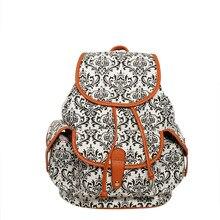 Цветочный Холст Рюкзак школьников мешок для подростков Обувь для девочек Обувь для мальчиков Рюкзаки Street Сумки цветок печати рюкзак Прохладный Сумка