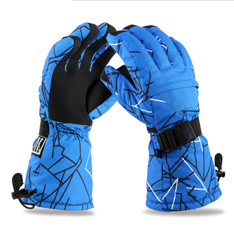 High Quality Winter Warm Snowboard Skiing Gloves Waterproof mountain Ski snowmobile snow Gloves motorcycle Windproof guanti moto