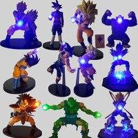 Dragon Ball Z Luminaria LED Nightlight Son Goku Black Vegeta Gohan Kamehameha Anime Dragon Ball Z