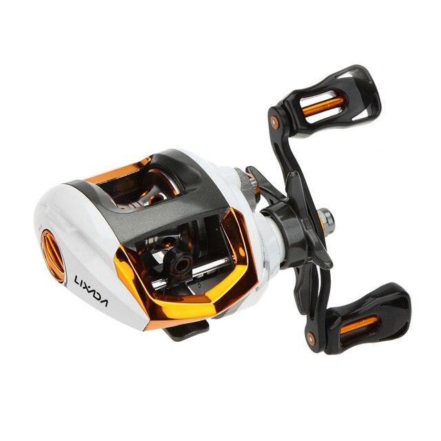 Hot High Speed Baitcasting Fishing Reel 13BB Ball Bearing GT 6.3:1 Baitcasting Fishing Reel Coils with Brake System Carretilha