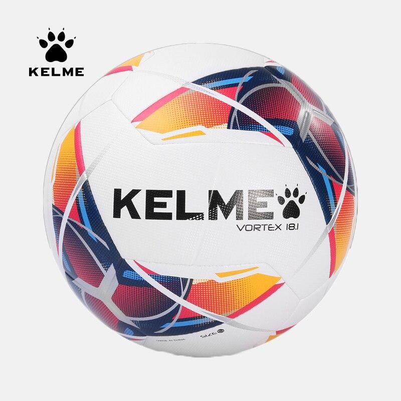 KELME Soccer Ball Football Futsal Ball PU Training Balls Outdoor Indoor Football Official Size 4 Match