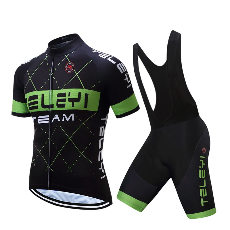 2018 TELEYI Cycling Clothing/MTB Road Bike Ride Clothing/Racing Bicycle Riding Clothes uniform Mans Jersey and Pants sets