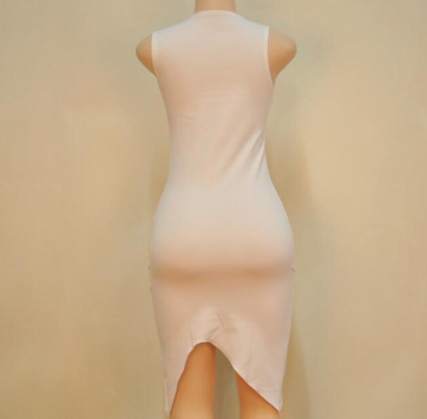 Aliexpress.com   Buy Fashion Women Sexy Basic Dresses Sleeveless Slim  Vestidos Vest Tanks Bodycon Dress Strap Solid Party Dress S L from Reliable  Dresses ... f5530f4a8006