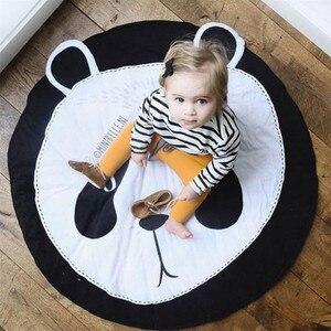 Image 5 - Tapete Infantil INS Baby Infant Play Mats Kids Crawling Carpet Floor Rug Baby Bedding Rabbit Blanket Cotton Game Pad Children Ro