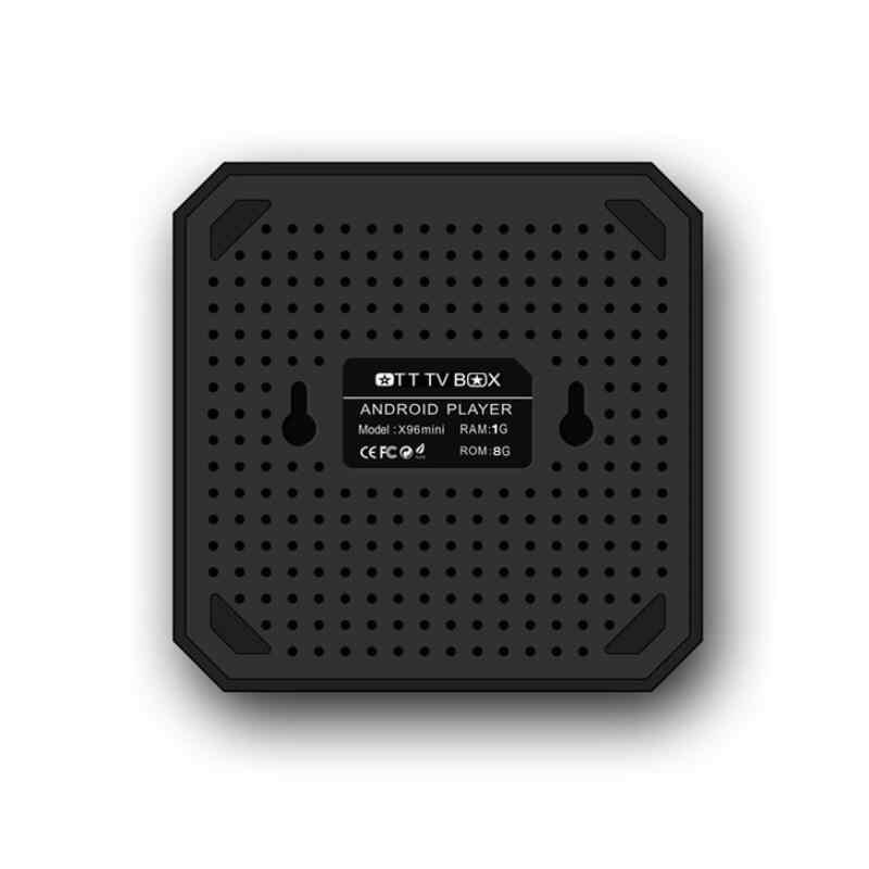 1GB 8GB X96 البسيطة الروبوت 7.1 مربع التلفزيون الذكية 4K 2GB RAM 16GB Amlogic S905W رباعية النواة wiFi 2.4GHz X96mini IPTV تعيين كبار مربع