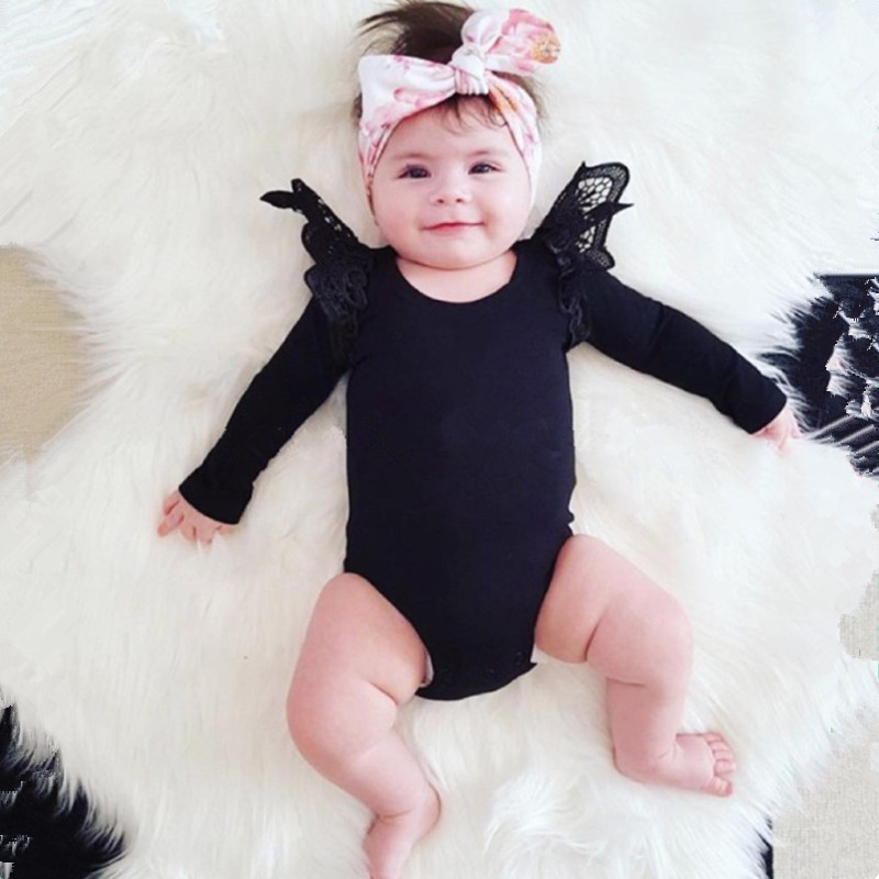 Autumn Baby Girl Rompers O Neck Cheap Clothes China Lace ...