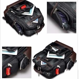 Image 3 - BOPAI marka duża pojemność wiele kieszeni plecak podróżny torba na ramię plecak na laptopa moda męska plecak rozmiar 43*35*20cm