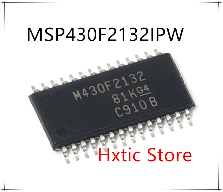 NEW 10PCS LOT MSP430F2132IPWR MSP430F2132IPW MSP430F2132 M430F2132 TSSOP 28 IC