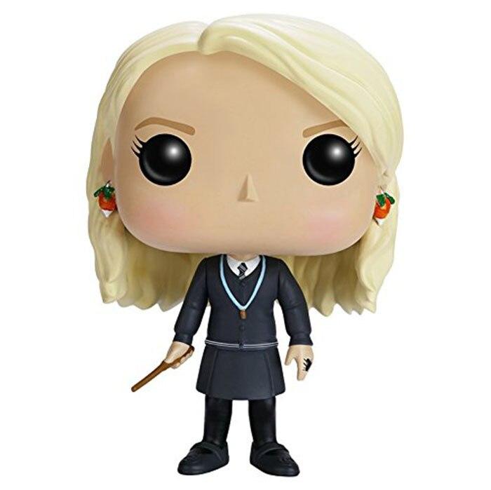 Новый горячий 9 см версии Гарри Поттер Луна Лавгуд фигурка героя коллектора игрушки Рождество подарок кукла без коробки