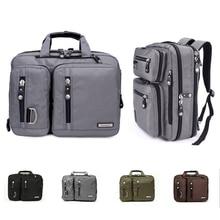 17.3/18.4 Inches Gaming Laptop Briefcase 3-in-1 Multi-Purpose Backpack Business Messenger Shoulder Bag Handbag стоимость