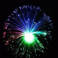 Led Fibre Optic Light Lamp Changing Fountain Night Relaxing Calming Novelty Party Supplies