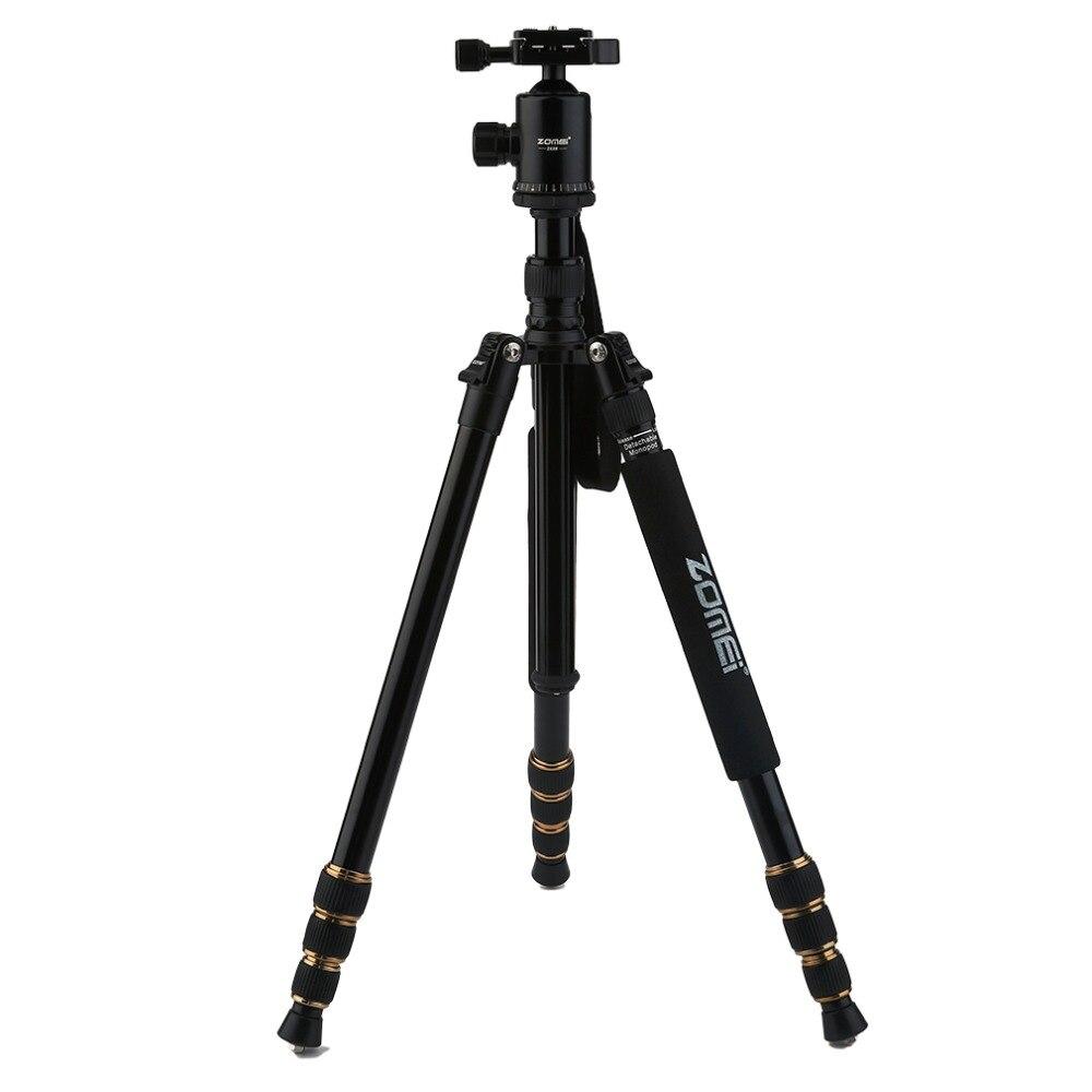 Z668 ZOMEI professionnel Portable caméra trépied support monopode pour DSLR appareil photo numérique avec tête à bille - 5