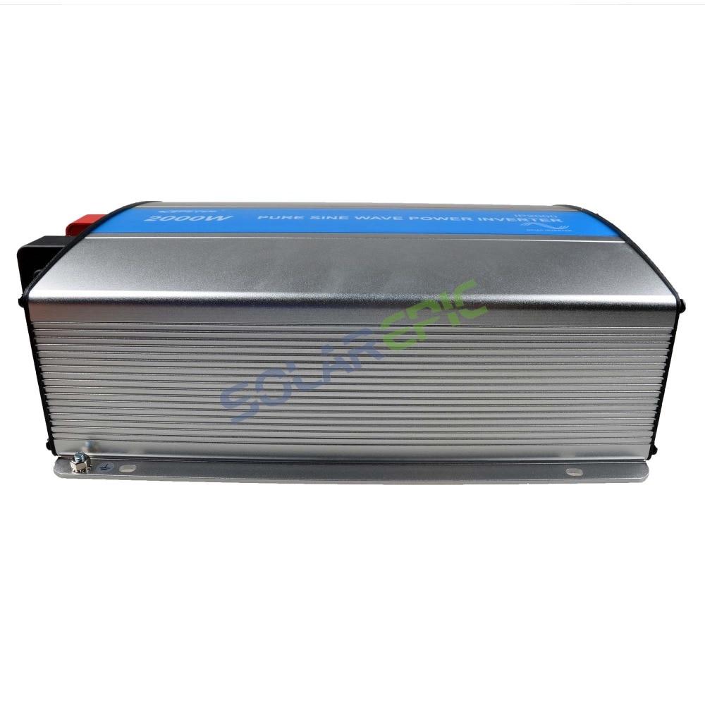 Epever 2000W Off Grid Inverter 24V or 48VDC to AC110V or 220V Pure Sine Wave Power Inverter Solar Off Grid Inverter 50Hz/60Hz CE