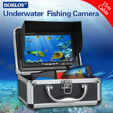 Free shipping!BOBLOV 7″ LCD 15m Underwater Fishing Camera System 1000TVL Ice/Sea Fish Finder