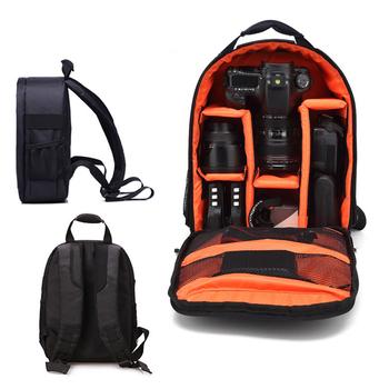 Torba na aparat plecak na akcesoria fotograficzne do Sony Nikon torba na aparat fotograficzny Canon plecak na aparat fotograficzny mała torba cyfrowa Dslr wodoodporna torba oddychająca tanie i dobre opinie Kamera Punkt i Strzelać Kamery DSLR Camera MONOPOD Lensx3 Batteryx2 TRIPOD DSLR Camerax2 Lensx2 System Kamery lustra Natychmiastowy aparat fotograficzny