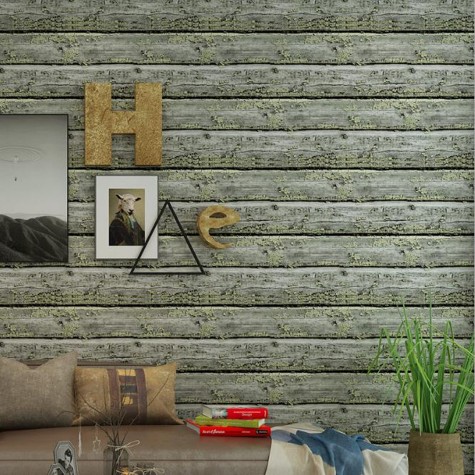 3D тиснением обоев рабочего стола виниловые обои древесины Современный ТВ Задний План ПВХ обои Декор в гостиную Домашний Декор