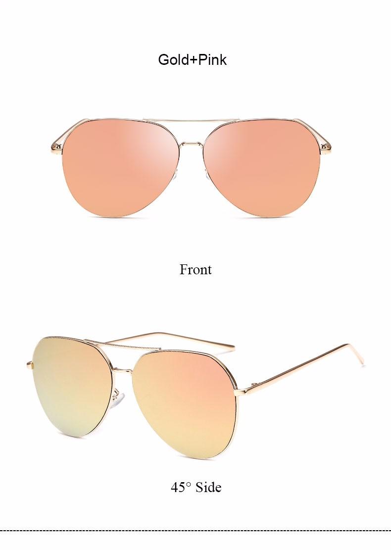HTB1d6QXNFXXXXcVaXXXq6xXFXXXL - Flat Lens Mirror aviation Sunglasses Women Stylish Sun Glasses PTC 296