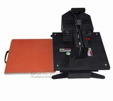 Новые Футболка печатание передачи тепла оборудование, 38*38 см высокого давления, тепла, пресс-машина
