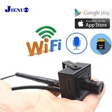 Mini câmera de vigilância residencial, wi fi ip 1080p hd 960p 720p vigilância residencial sem fio micro ipcam pequena cctv suporte micro sd slot