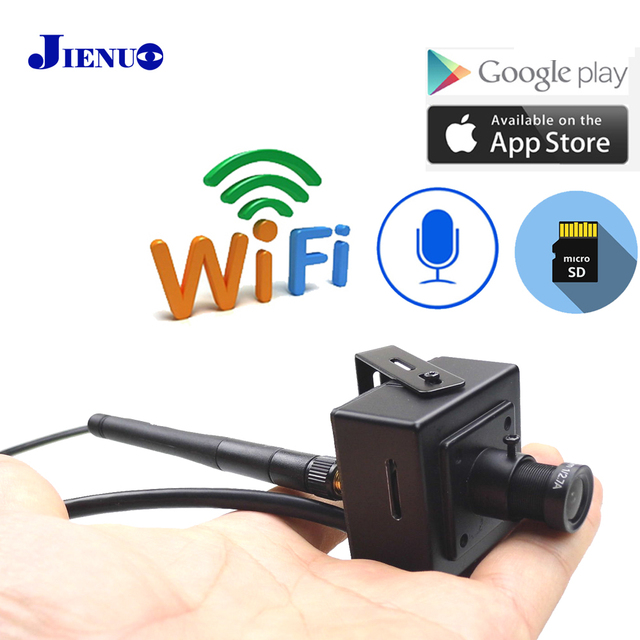 Wifi Mini Camera Ip 1080 P HD 960 P 720 P Home Security Draadloze Audio Micro IPCam Kleine CCTV Surveillance ondersteuning Micro Sd Slot