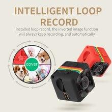 Мини камера SQ10 SQ11 SQ12, 1080P Full HD, видеорегистратор с ночным видением, Автомобильный видеорегистратор, Спортивная цифровая камера с поддержкой TF карты