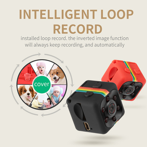 Image 1 - SQ10 SQ11 SQ12 Mini Camera 1080P Full HD Night Vision Camcorder Car DVR Video Recorder Sport Digital Camera Support TF Card
