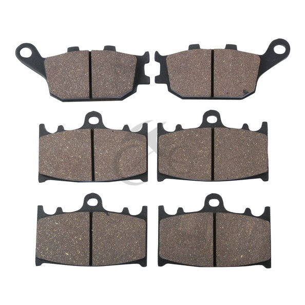 ФОТО Motorcycle Sintered 6 Pcs Disc Front & Rear Brake Pads For SUZUKI SV 1000 SV1000 K3 / SK3 2003 GSX650F GSX 650F 2008