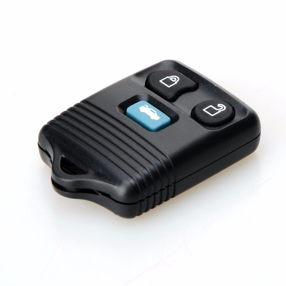 3 buttons replacement remote key keyless entry fob 433mhz for ford transit mk6 connect 2000