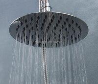 Nuevo 8 pulgadas perfecto nueva ronda de baño de acero inoxidable 304 ducha de lluvia cabeza 8021