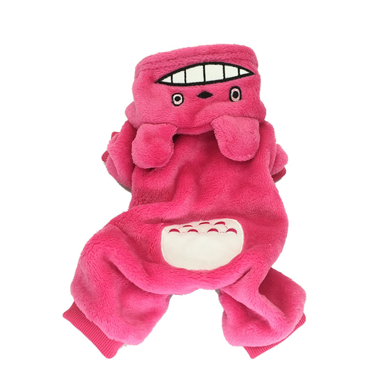 Cute Cat Costume Winter Pet Clothes For Cat Puppy Small Dog Fleece Hoodies Suit Cold Weather Kitten Outfits Xs S M L Xl 2xl #4