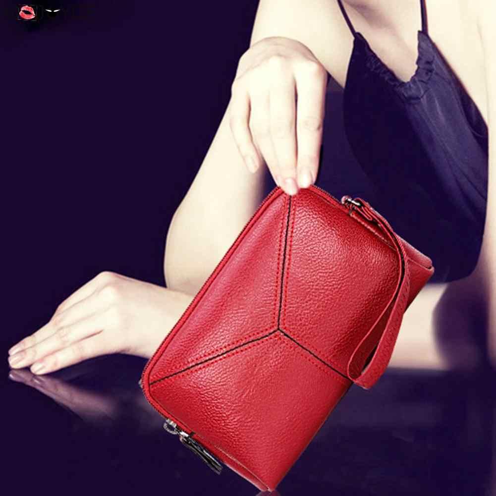 Fashion Multifunction Mini Phone Bag Card Coin Clutch Long Women Wallets Purses Brand Design Women Bags Women Leather Handbag  #
