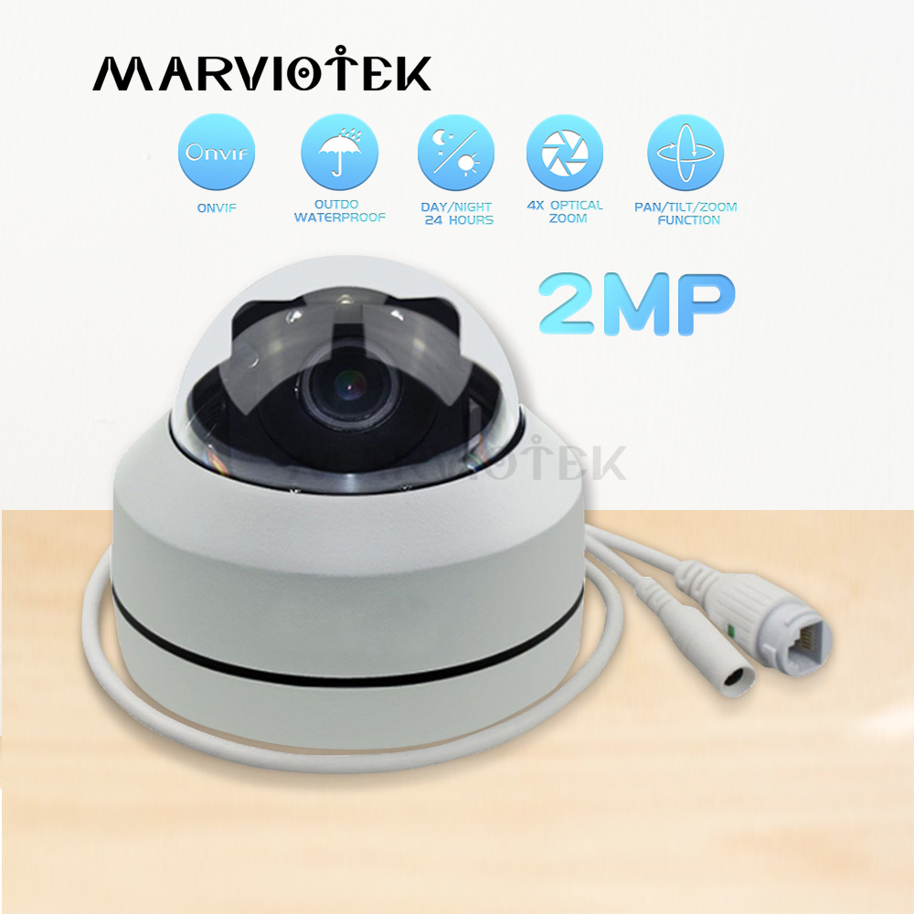 4X Zoom PTZ Speed Dome Camera Outdoor Video Surveillance Onvif P2P IR Night Vision Dome 1080P Full HD PTZ IP Camera Waterproof4X Zoom PTZ Speed Dome Camera Outdoor Video Surveillance Onvif P2P IR Night Vision Dome 1080P Full HD PTZ IP Camera Waterproof