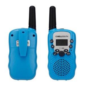 Image 5 - 2 個ポータブルワイヤレストランシーバーセット 8 チャンネル 2 ウェイラジオインターホン 5km旅行ヤン 22