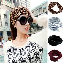 Women's Elastic Wide Sports Headbands Hair Accessories Turban Headband Headwear