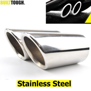 Image 1 - 2pc Exhaust Muffler Tips For VW Polo 6R Bora Golf 5 6 7 Mk7 Scirocco 1.4T Tiguan 1 Tail Pipe Tailpipe Finisher End Trim Cover