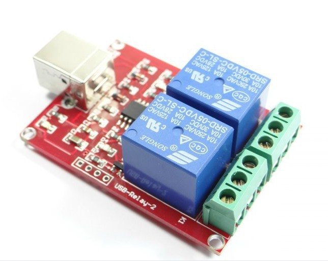 Freeshipping PC control 2 road relay module 5V freeshipping rs232 to zigbee wireless module 1 6km cc2530 chip