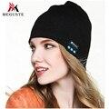 Meguste Bluetooth Beanie Sombrero de Invierno de Punto de Boy & Girl. Bluetooth moda sombrero gorros mujer invierno.