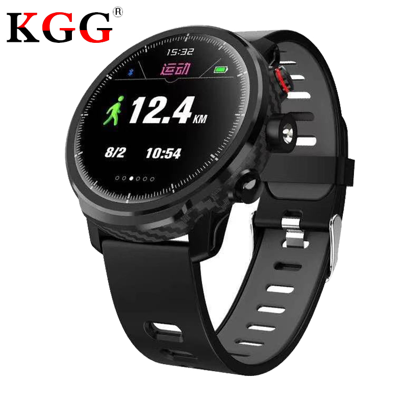 L5 Smart Watch IP68 Waterproof Multiple Sport Mode Heart Rate Weather Men Smartwatch Support Led Lighting