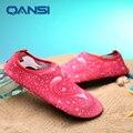 Super cool transpirable zapatos de agua aqua, personalizada estilo Único caminar calzado de playa natación vadeando descalzo suave piel
