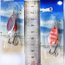 Metal Sheetmetal Lures Set 30x Spinnerbait Fishing Hard Lure Pike Salmon Bass Card 2 Fish Bait Hook Fishing Tackle spinners