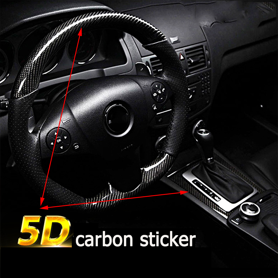 Image 3 - Car Styling 5D Carbon Fiber Car Sticker For Hyundai Creta Tucson BMW X5 E53 X6 VW Golf 6 7 GTI Kia Rio Sportage 2017 Accessories-in Car Stickers from Automobiles & Motorcycles
