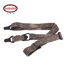CS airsoft Camouflage M S 3 Portable military tactical hunting sling rope lanyard and Gun Accessories Rifle gun Sling