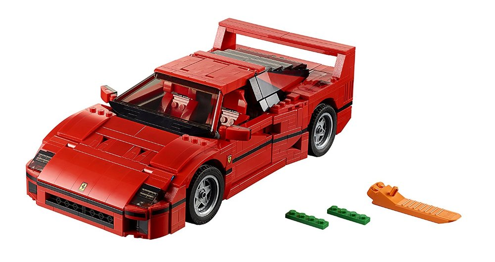 Lepin 21004 Ferrarie F40 Sports Car Model Building Blocks Kits Bricks Toys Compatible with 10248 new lepin 22001 pirate ship imperial warships model building kits block briks toys gift 1717pcs