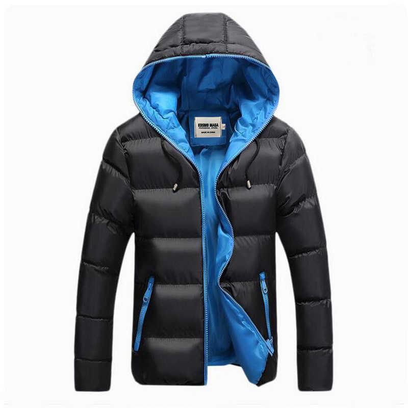 2f602907200 ... Космо Маса 2017 хлопок куртка с капюшоном зимняя куртка мужская мужчины мужские  зима Парка зимние куртки ...