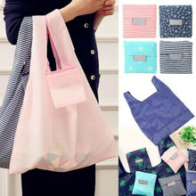 Foldable Shopping Hand Bags Grocery Bags Big Capacity Reusable Supermarket Kitchen Storage Bags thinkthendo shopping handbags foldable grocery bags large capacity reusable supermarket tote